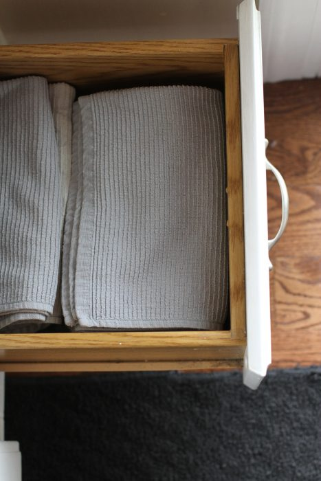 How to keep towels and dishcloths sanitary