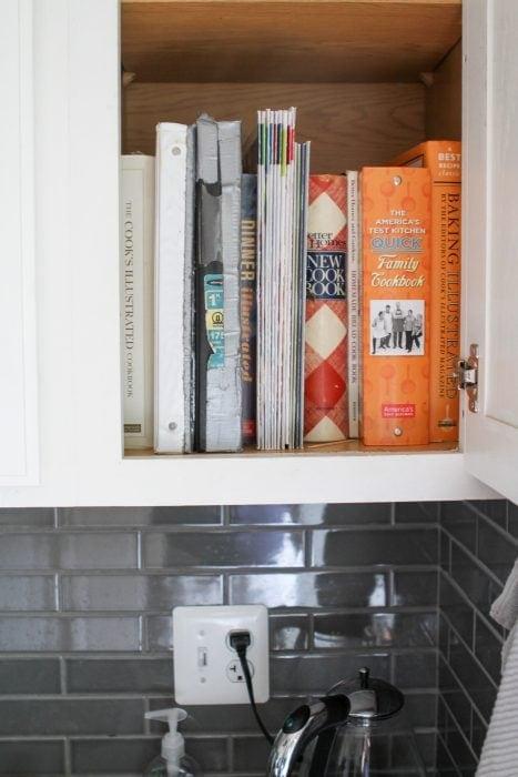 cookbook cabinet