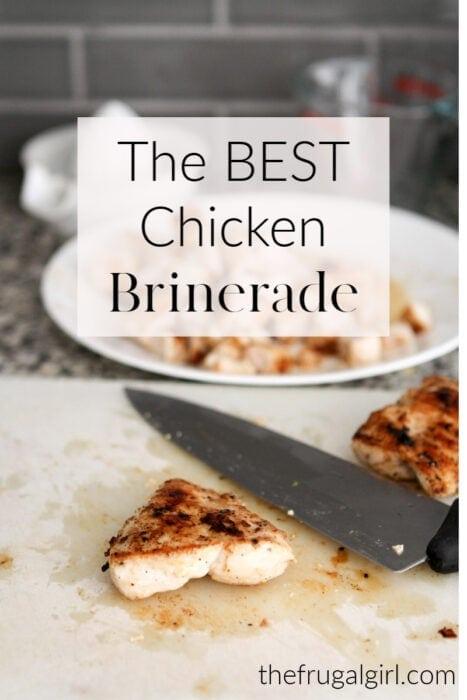 The BEST chicken brinerade recipe
