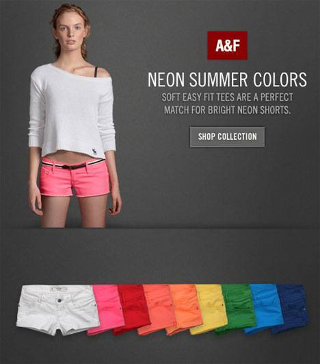 Abercrombie Fitch Soft Easy Fit Tees
