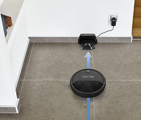 Aspirateur robot et autonomie