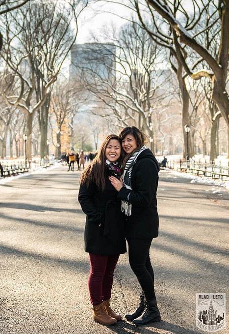 Photo 37 Same Sex proposal by Brooklyn Bridge + Engagement in Central Park | VladLeto