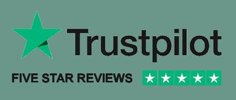 4.9 Stars on TrustPilot