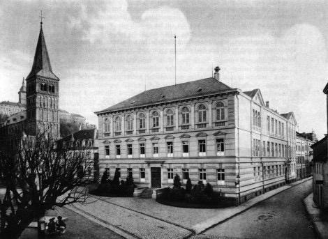 Das Gebäude des Stadtmuseum Siegburg um 1910