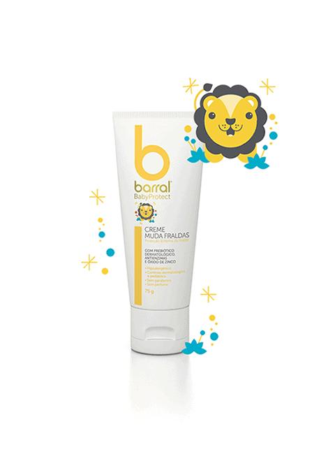 Barral Babyprotect Creme Muda Fraldas 75ml