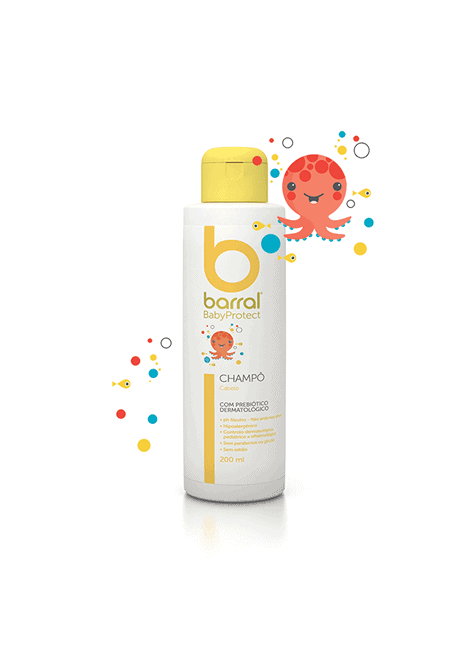 Barral Babyprotect Champoo 200 ml