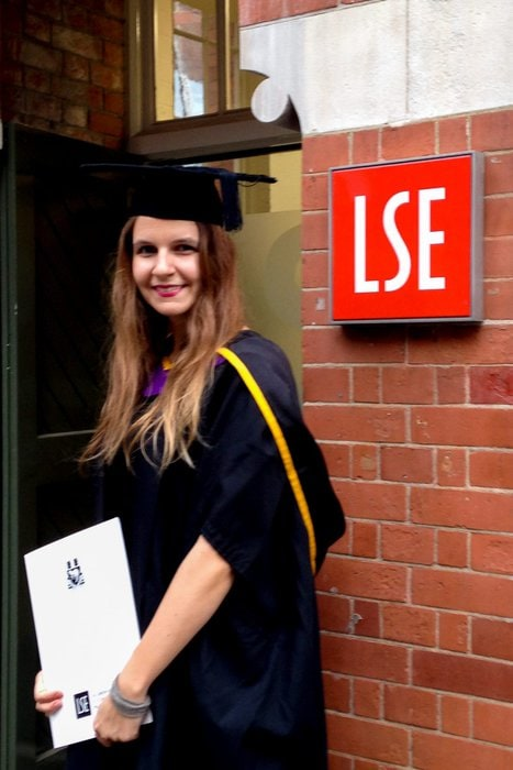 LSE graduation - Experiencing the Globe