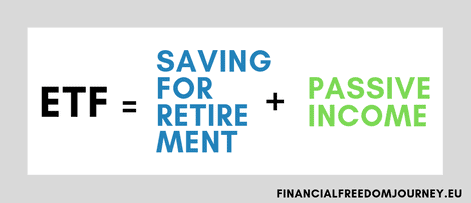 ETFs as retirement saving account and passive income