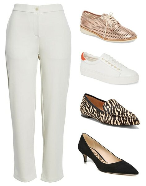 Ankle pants | 40plusstyle.com