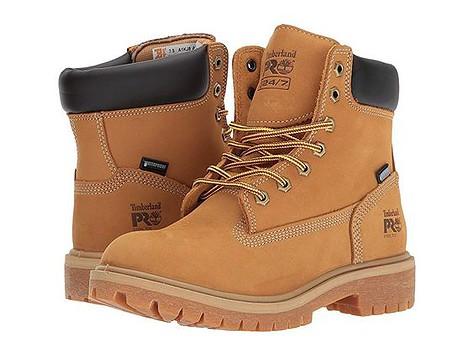 Women's work shoes for concrete floors