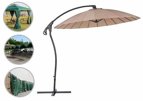 materiał wodoodporny na parasol ogrodowy
