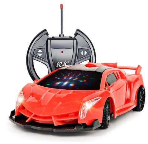 electric robot car