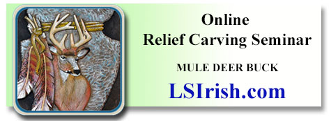 free online carving seminar by Lora