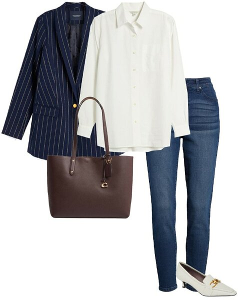 Oversized blazer | 40plusstyle.com