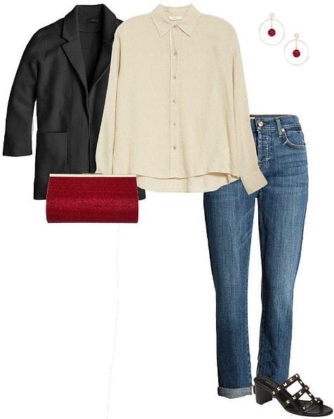 A smart jacket | 40plusstyle.com