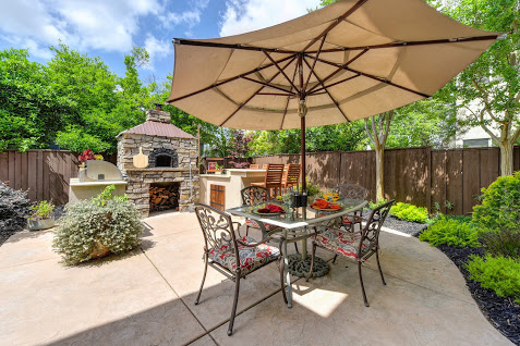 backyard outdoor kitchen 5850 pebble creek rocklin