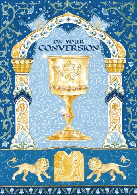 CV433 Conversion Goblet Illuminated Art Card by Mickie Caspi