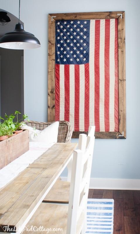 4th of July Flag Decor
