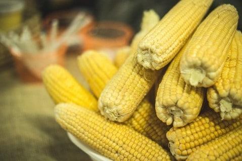 Corn cobbs