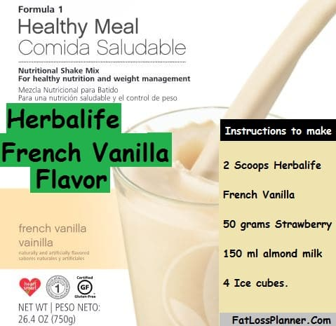 Herbalife French Vanilla