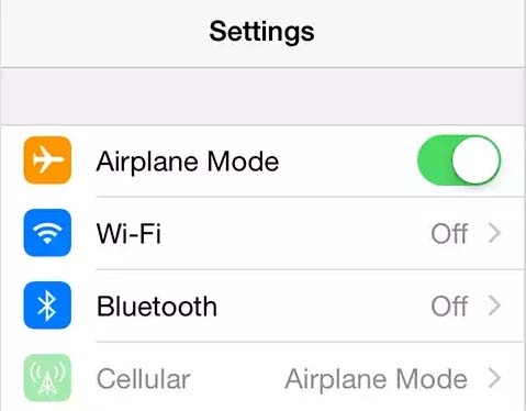 airplane mode trick to fix iphone email setup error