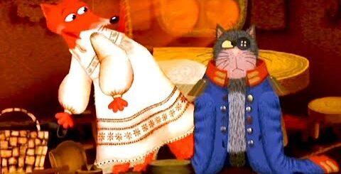Сказки - Мультики для детей   Гора самоцветов - Кот и Лиса