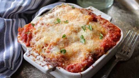Lasagna For One | One Dish Kitchen