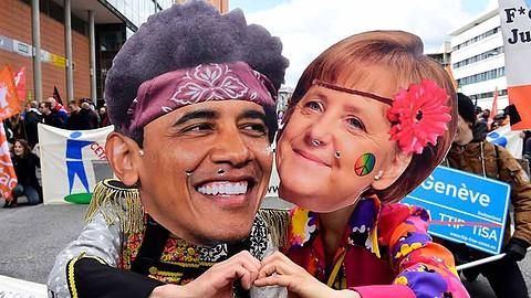 TAFTA-Obama-Merkel