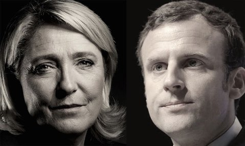Le Pen - Macron