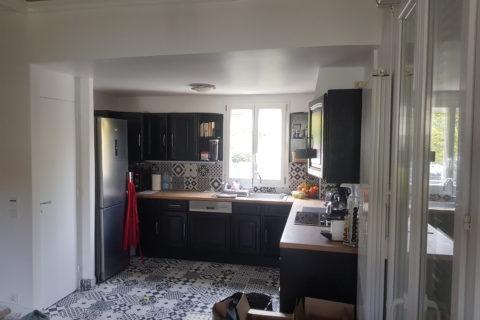 Rénovation d'une maison de 65m² à Conflans Sainte Honorine