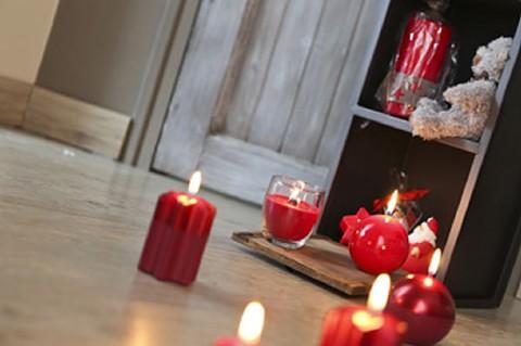 Noël et bougies