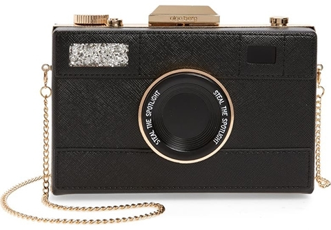 Olga Berg Madelyn Camera Clutch | 40plusstyle.com