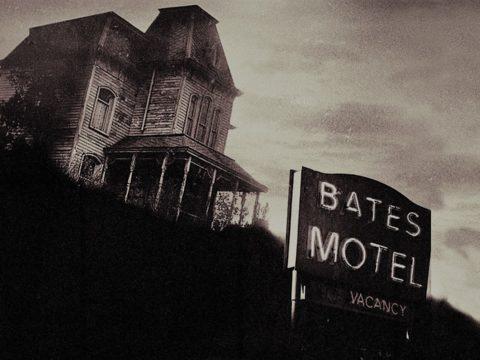 Norman Bates-Motel aus Psycho