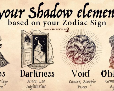Your Shadow Element - based on your Zodiac Sign