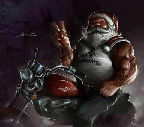 Jacked Santa