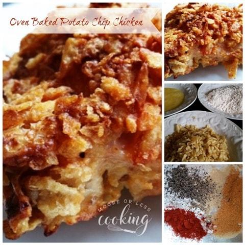 Oven Baked Potato Chip Chicken