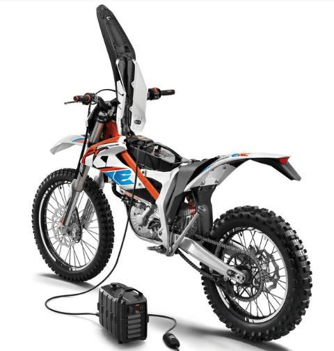 Electric Dirt Bike battery charging