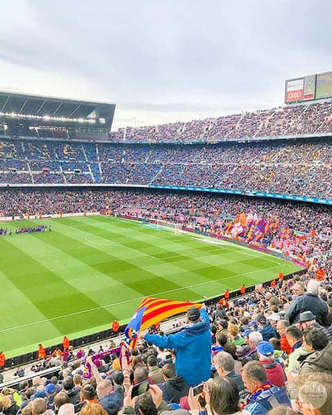 Camp Nou Experience - one of the Best Things to do in Barcelona