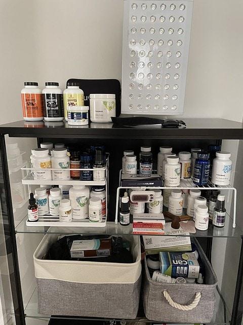 Katie Supplement cabinet