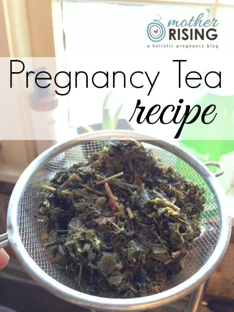 With every sip of this pregnancy tea recipe I know I am nourishing my body with the vitamins and minerals that it needs (unlike how I feel when I take regular vitamins, which aren't as bio-available as herbs are).
