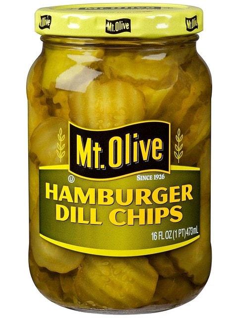 Hamburger Dill Chips