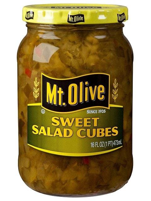 Sweet Salad Cubes