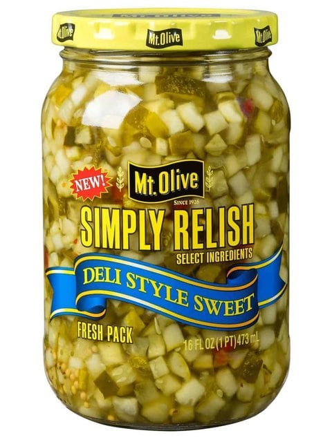 Simply Relish Deli Style Sweet Jar