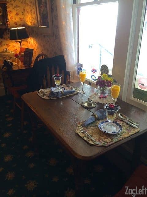 The Raford Inn - Breakfast - ZagLeft