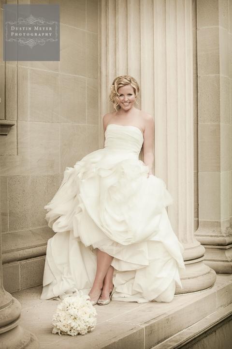 columns bridal photography portrait Hotel Zaza Houston