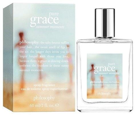 Philosophy Pure Grace Summer Moments Spray Fragrance Eau de Toilette | 40plusstyle.com