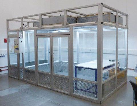 Modular ISO 8 cleanroom