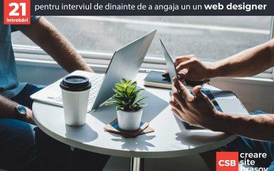 21 de întrebări pentru interviul de dinainte de a angaja un un web designer