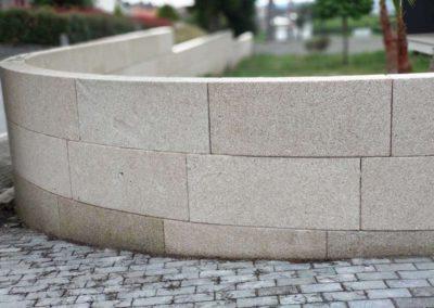 Revêtement de Mur en Granit Beige