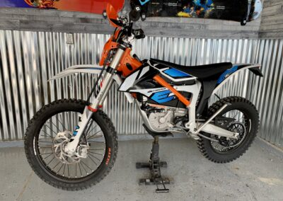 Mid sized adult dirt bike